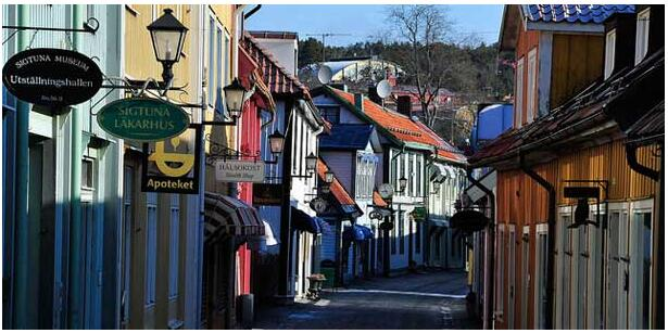 An atmospheric small town steeped in history